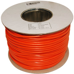 Orange Lawn Mower Cable PVC Flex .75mm 2182Y