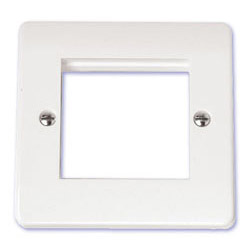 Scolmore Click Mode Double Media Plate Twin Aperture