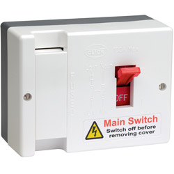 Scolmore Click 80A Fused Main Switch (100A Max)