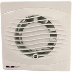 Manrose Intervent 4 100mm Fan with Pullcord