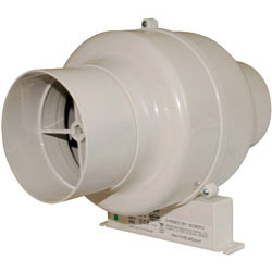 Manrose Inline Duct Fan 100mm with Timer CFD200T