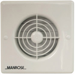 Manrose 4 100mm Automatic Fan