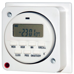 Flush Mounting Electronic Timer - Time Switch