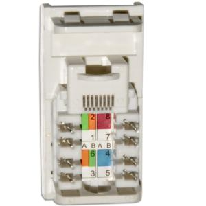 Data CAT5E RJ45 Wall Grid Outlet Module